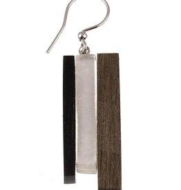 ORIGIN Wood/Shell Earrings