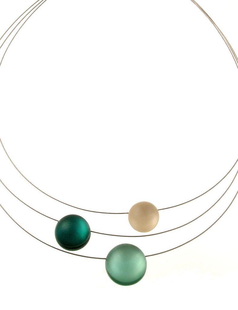 ORIGIN 3 Strand Resin Necklace