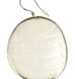 ORIGIN Oval Capiz Shell Earrings