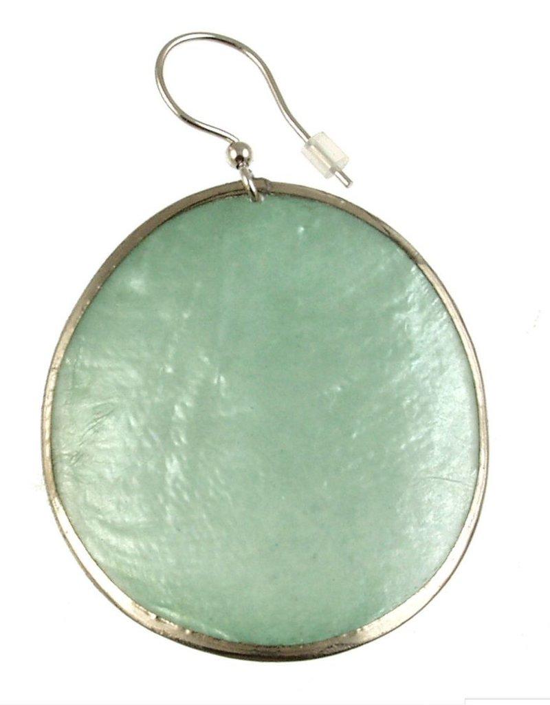 ORIGIN Oval Capiz Shell Earrings