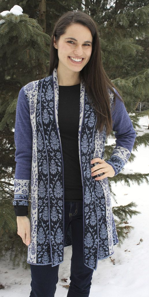 Tabask/TeyArt Alpaca Jacquard Sweater