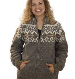 The Sweater Venture Natural Icelandic Zip
