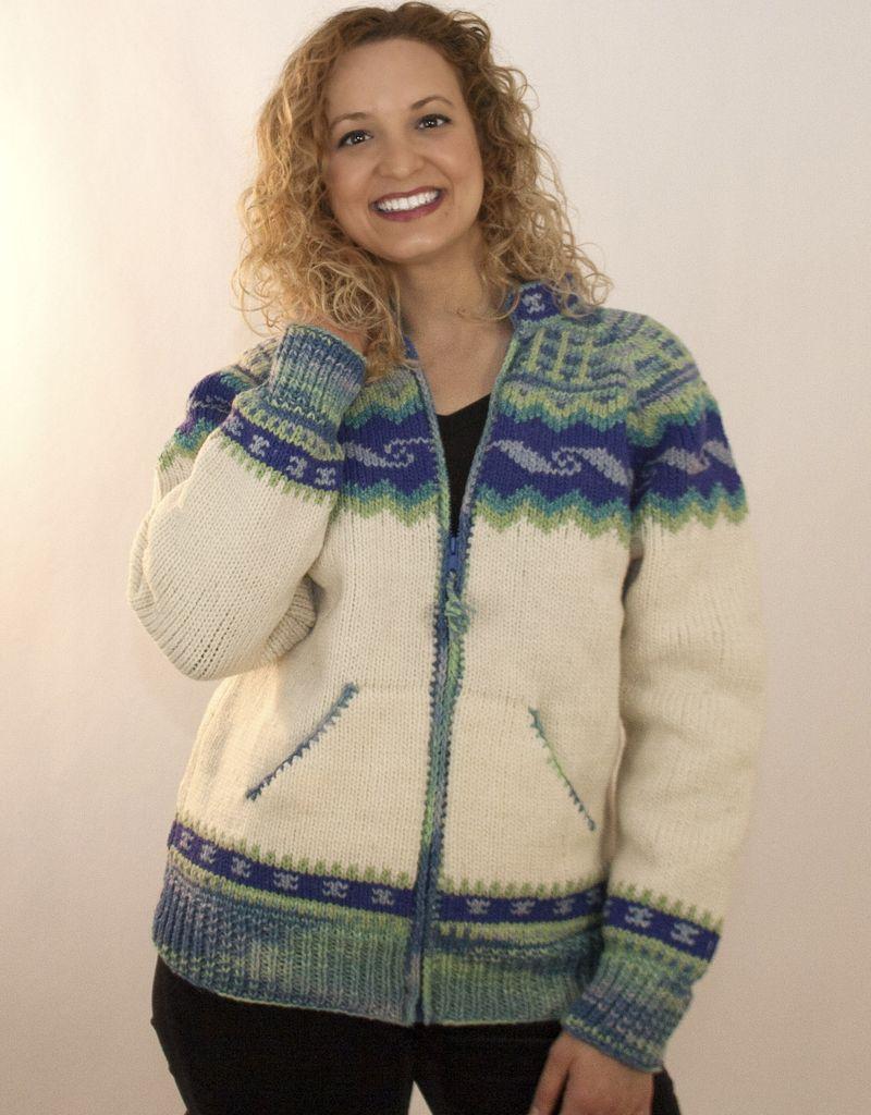 The Sweater Venture Icelandic ZipUp