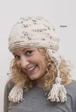 The Sweater Venture Boucle Fleece Lined Flap Cap