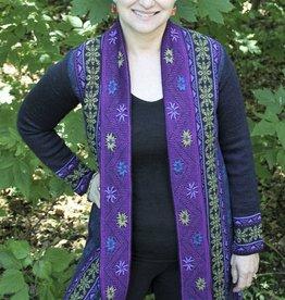 Tabask/TeyArt Alpaca Jacquard Knit Sweater