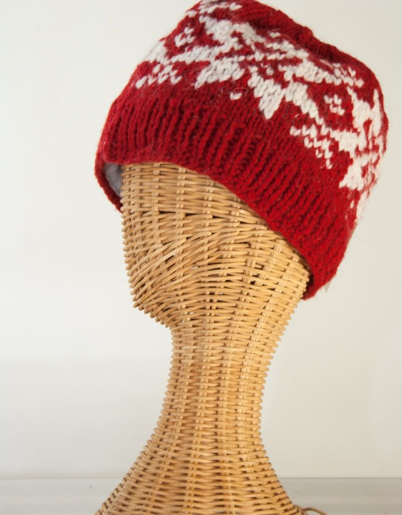 The Sweater Venture Snowflake Ski Cap