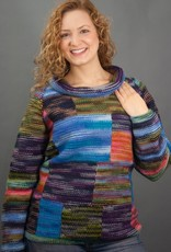 The Sweater Venture Multicolor Cowl Pullover