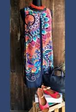 Tribu International, Inc Sleeveless Dress w/Overlay