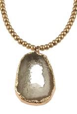 "ORIGIN 36"" Geode Necklace"