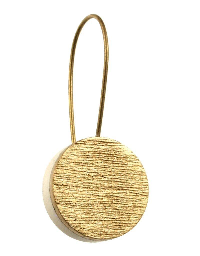 ORIGIN Textured Alum Disc Earring