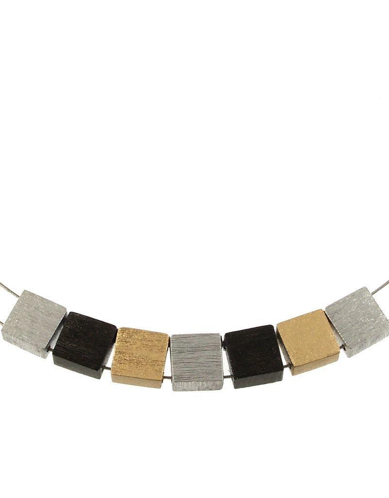 ORIGIN Square Aluminum Necklace