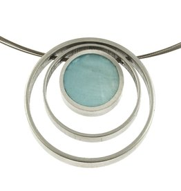 ORIGIN 3 Rings Pendant Necklace