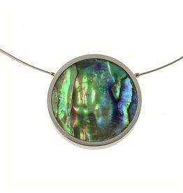 ORIGIN Single Paua Pendant Necklace