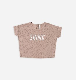 Rylee and cru T-shirt ample Shine
