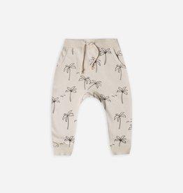 Rylee and cru Pantalon de jogging, imprimé palmiers