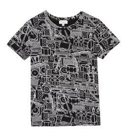 Paul Smith Junior T-shirt instruments imprimés