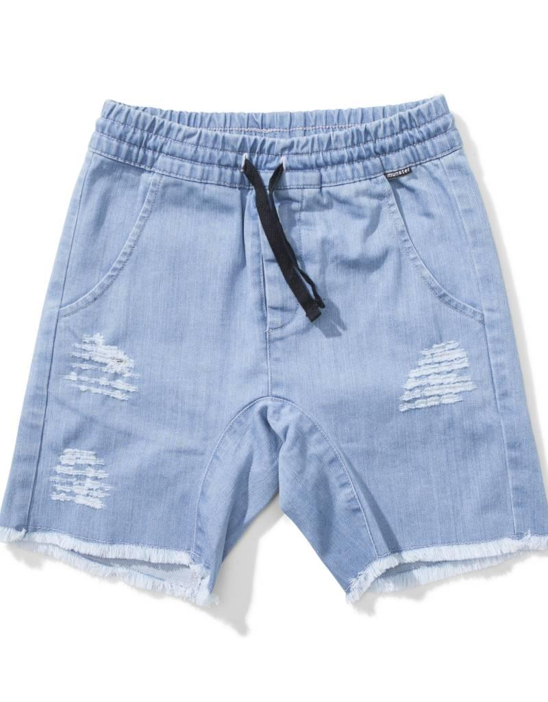 Bermuda en denim Ripped up