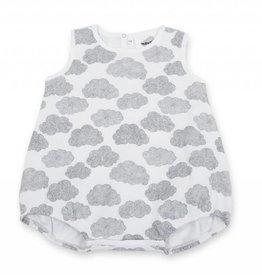 Barboteuse pour bébés Baba, imprimé nuages
