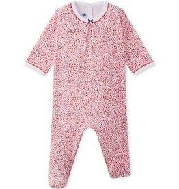 Petit Bateau Pyjama bébé fille Mignon, à imprimé fleuri