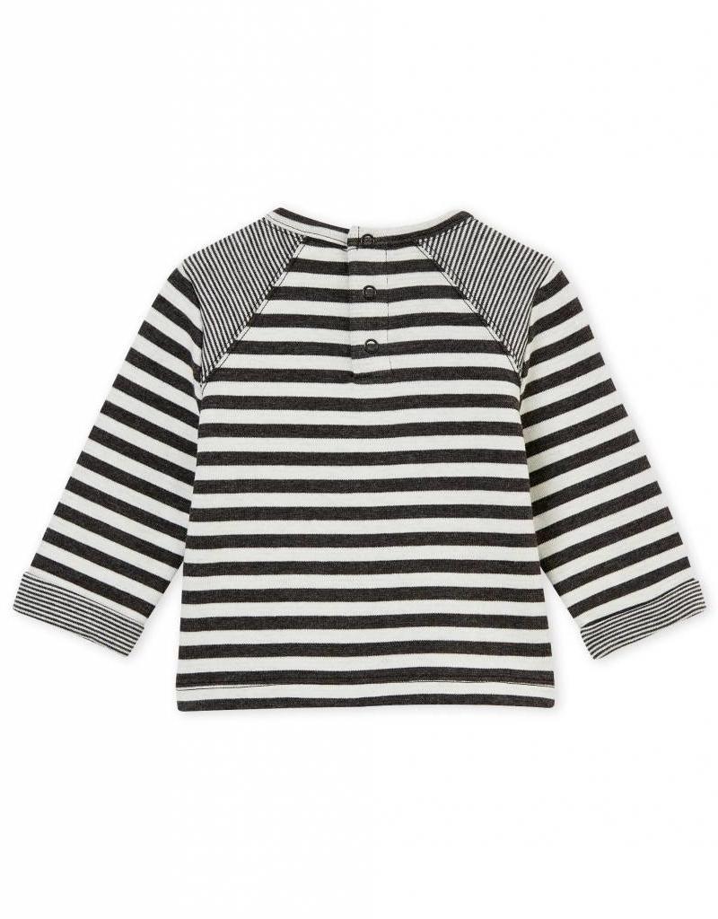 T-shirt rayé pour bébés
