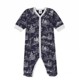 Petit Bateau Pyjama pour bébé, imprimé forêt