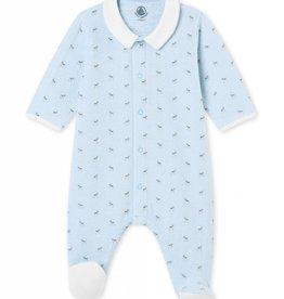 Petit Bateau Pyjama pour bébé, imprimé petits faons