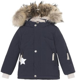 Manteau d'hiver Wessel avec fourrure