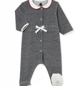 Petit Bateau Pyjama ligné en velours