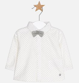 Mayoral Chemise à noeud papillon pour bébé