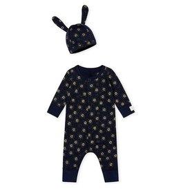 Petit Bateau Ensemble combinaison et bonnet pour bébé