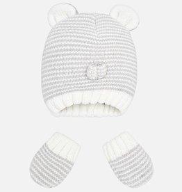 Mayoral Ensemble bonnet et mitaines pour bébé