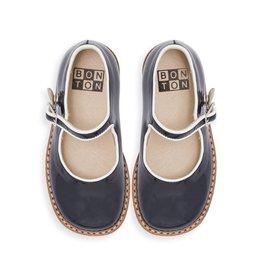 Bonton Chaussures Mary Jane en cuir vernis pour bébé