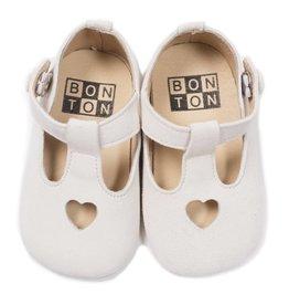 Bonton Chaussons coeur pour bébé
