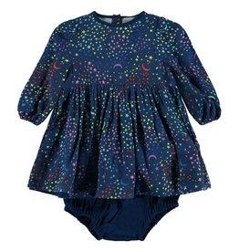 StellaMcCartney Robe et bloomer, imprimé étoiles