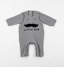 Olive mini Combinaison Moustache