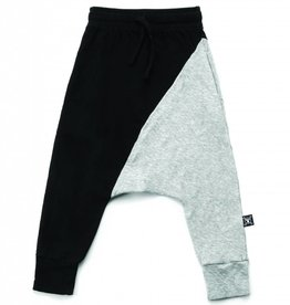 NuNuNu Pantalon de jogging moitié/moitié