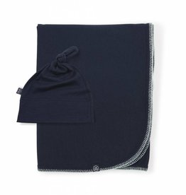 Luvmother Ensemble tuque Knot et couverture pour bébé