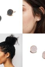 Fashionable Druzy Earrings