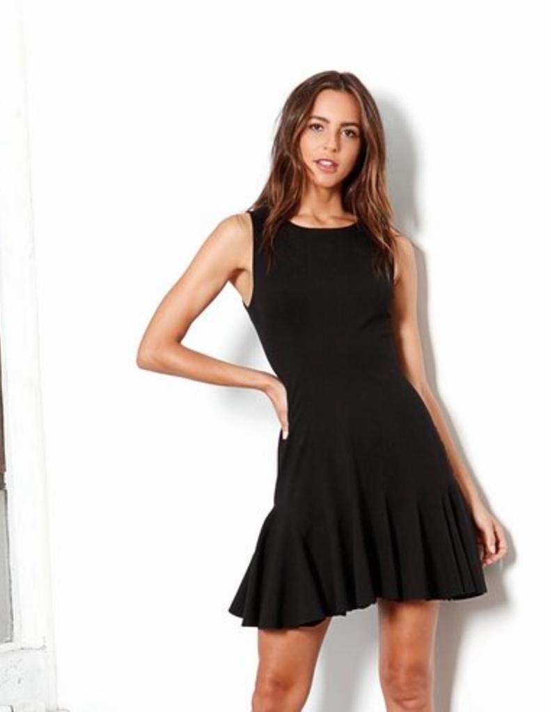 Three Dots Fit & Flare Dress - El Boutique LLC