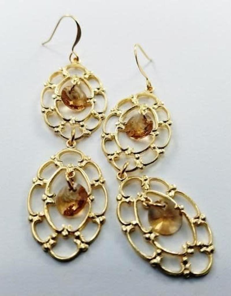 Verr Floine Gold Earrings