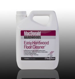 MacDonald MacDonald Easy Hardwood Floor Cleaner, One Gallon