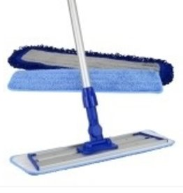 MacDonald MacDonald Easy Hardwood MacMop - Pro.  Base, Handle, 2 Cleaning Pads, 1 Dust Pad