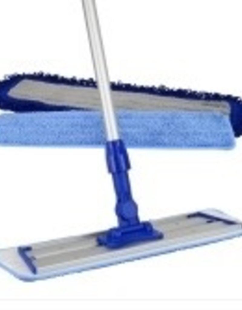 MacDonald MacDonald Easy Hardwood MacMop - Pro.  Base, Handle, 2 Cleaning Pads, 1 Dust Pad