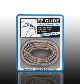 "EZ Glide EZ Glide Felt Floor Protectors, Strip 0.5"" x 36"" Roll, 1 per package"