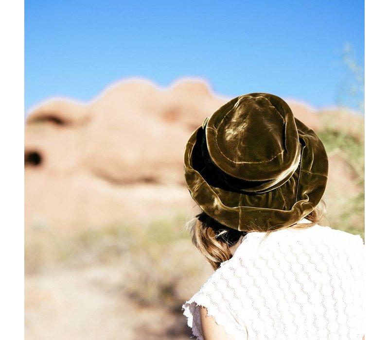 1940's Velvet Hat