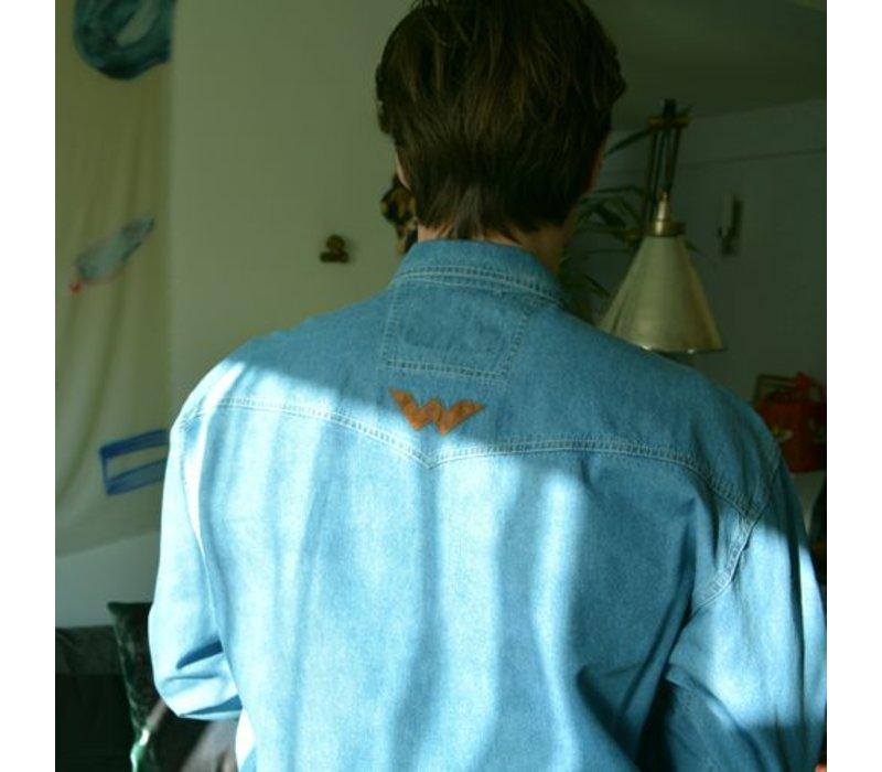 Shooter Denim Shirt