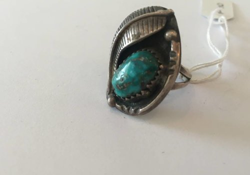Dark Turquoise Ring