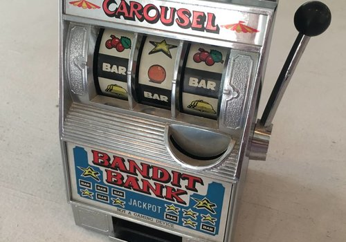 Carousel Slot Machine Toy