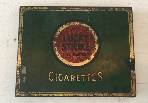 Lucky Strike Cigarettes Tin
