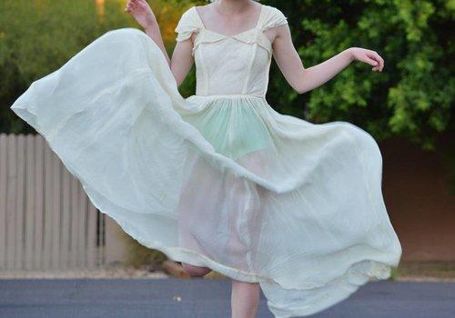 Emma Domb Ivory Lace Dress